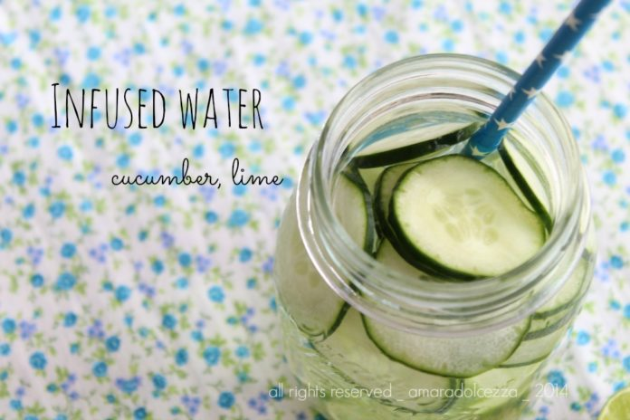 infused water_cetriolo_lime